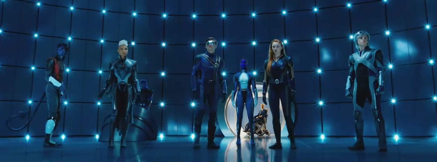 X Men Apocalypse D 233 Voile De Nouveaux Costumes Tr 232 S