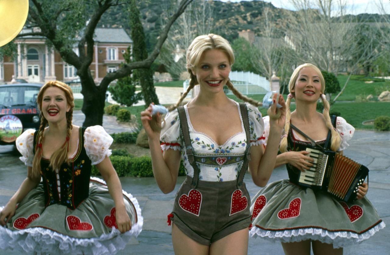 deguisement 3 droles de dames