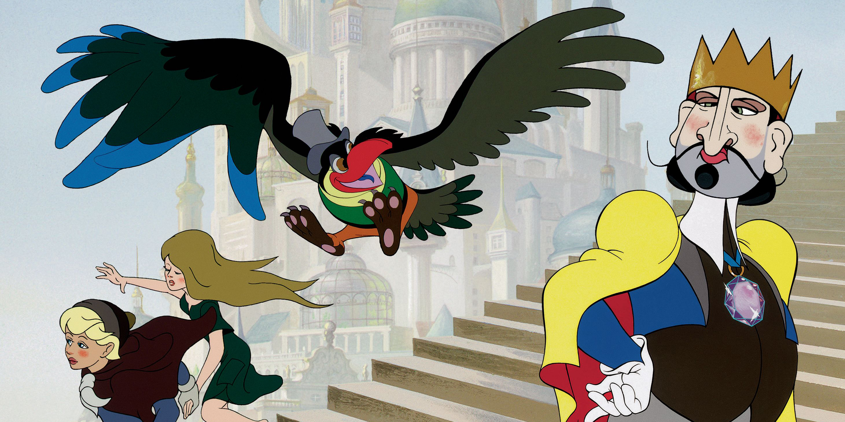 Le roi et l 39 oiseau film 2013 - Coloriage le roi et l oiseau ...