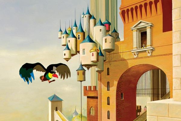 Le doigt dans le culte le roi et l 39 oiseau de paul grimault dossier film - Coloriage le roi et l oiseau ...