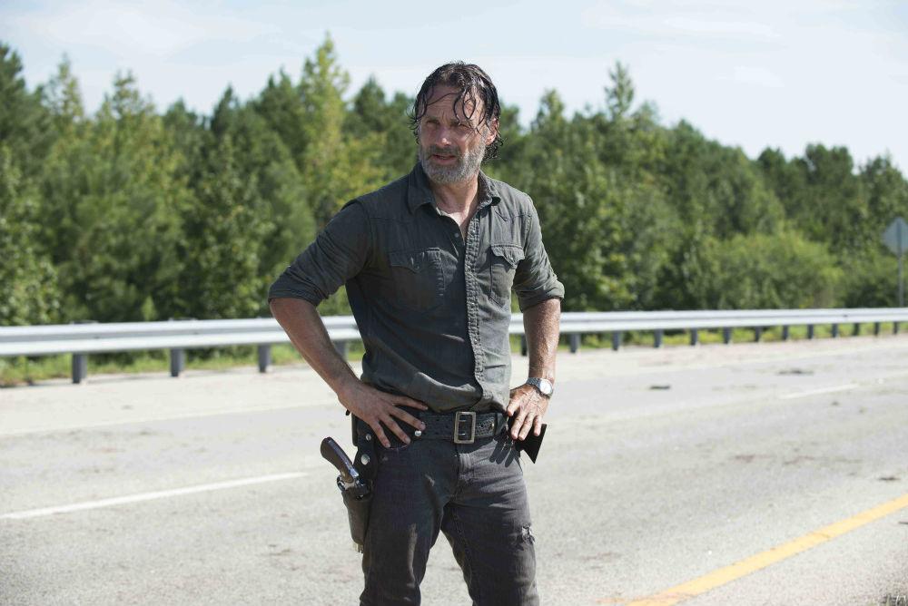 Rick se prépare à battre Negan — The Walking Dead
