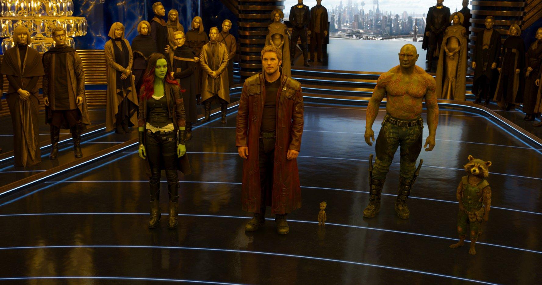 Les Gardiens de la Galaxie 2: une course-poursuite dans l'Espace ! (extrait)