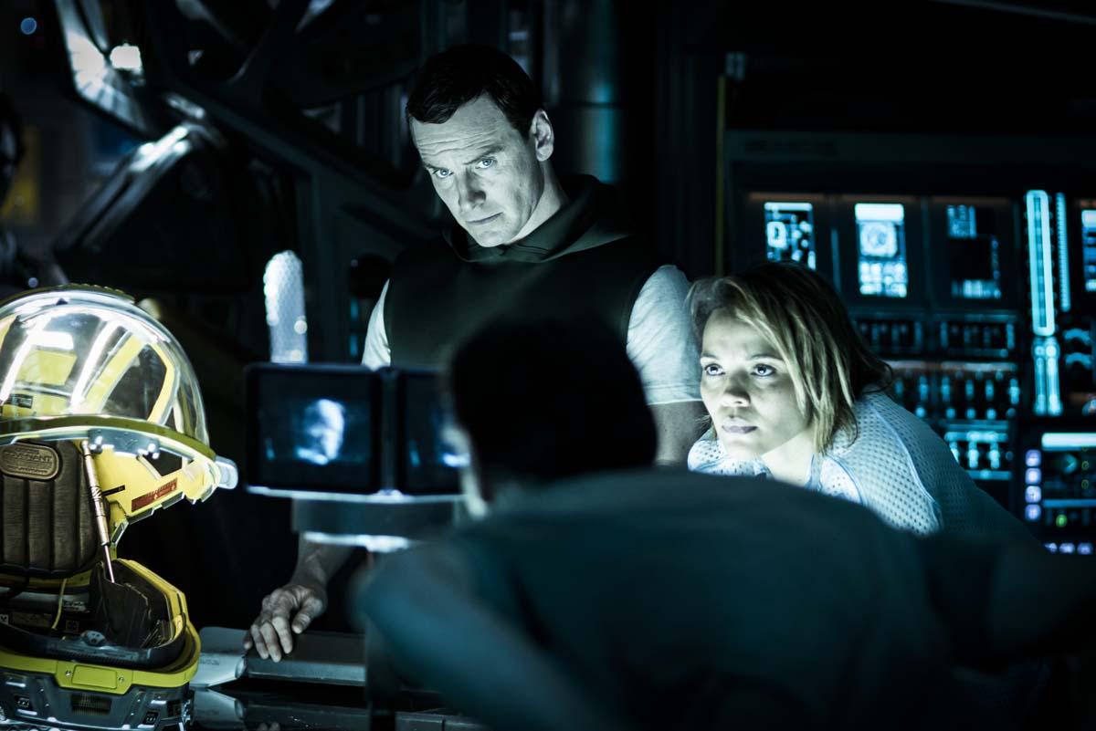 Une vidéo de 4m45 pour nous présenter l'équipage d'Alien : Covenant