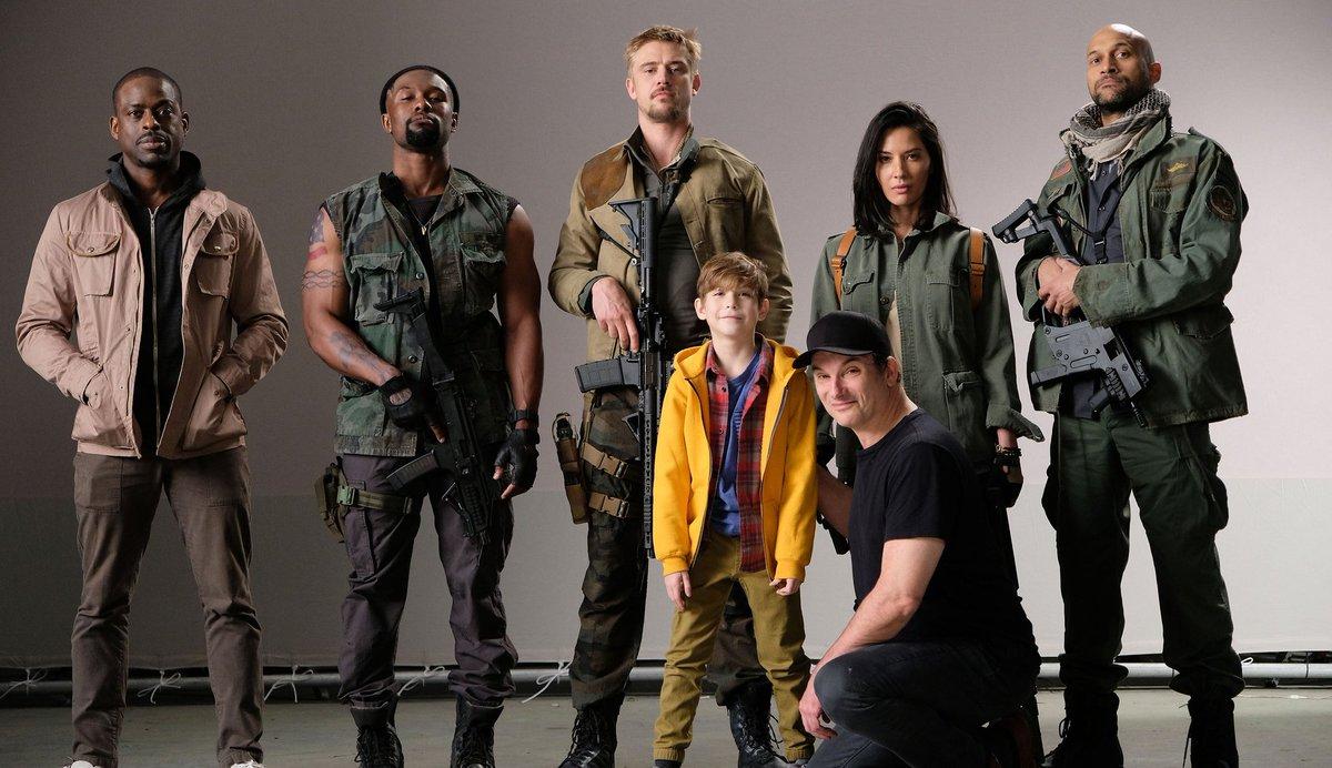 Premier coup d'oeil au casting — The Predator