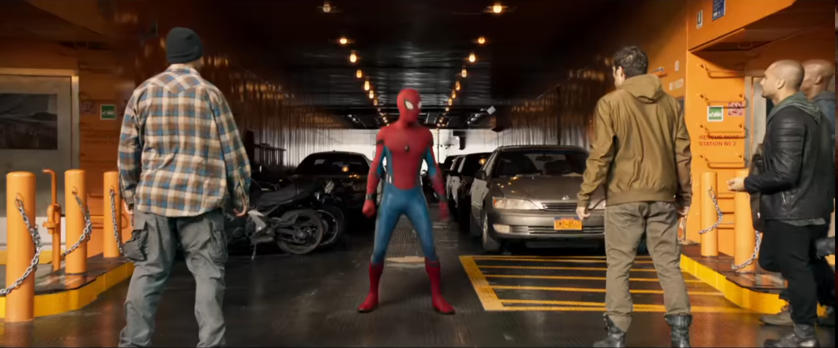 Acteur spiderman homecoming