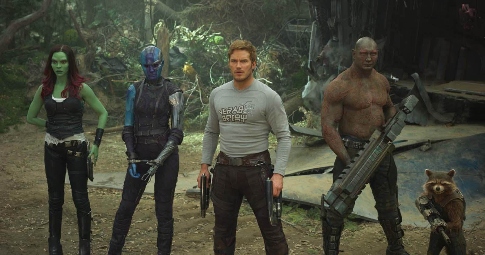 Les Gardiens de la Galaxie s'unissent pour que Disney réembauche James Gunn