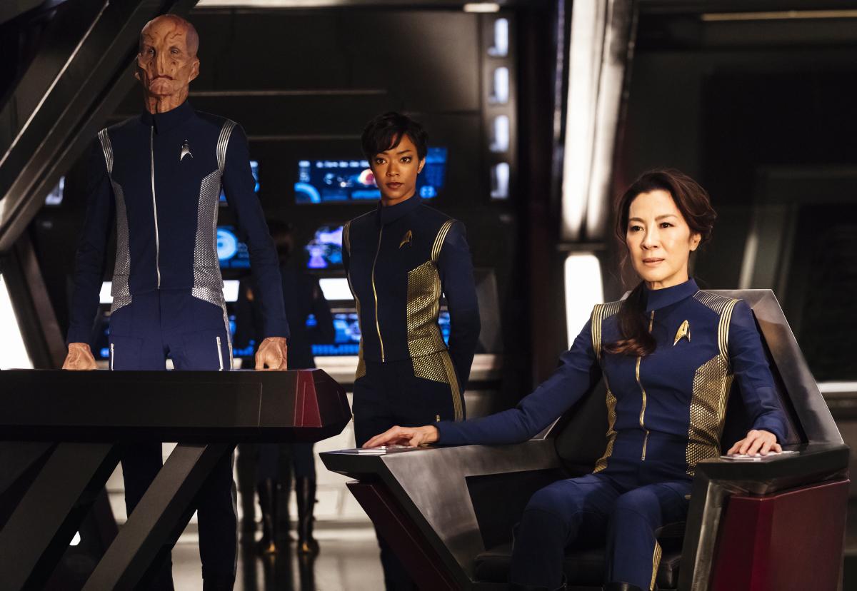 Les dates de diffusion dévoilées — Star Trek Discovery