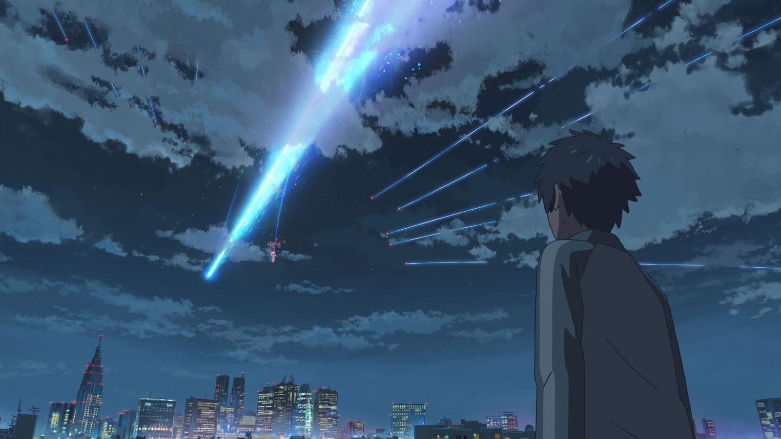 Après Your Name Makoto Shinkai Dévoile Son Nouveau Film Weather
