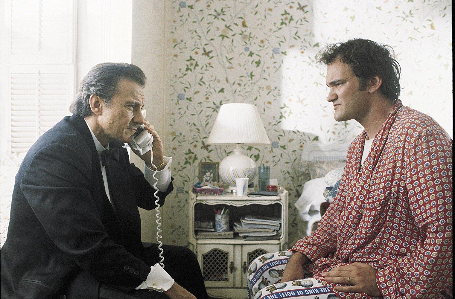 Le réalisateur prépare le film du siècle — Quentin Tarantino