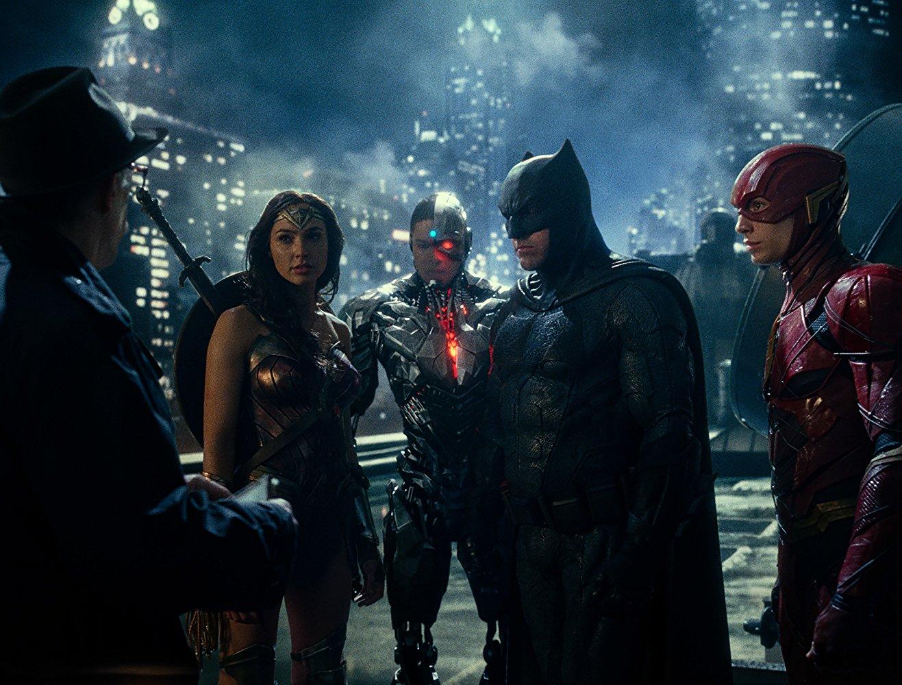 Les joueurs du PSG rejoignent la Justice League