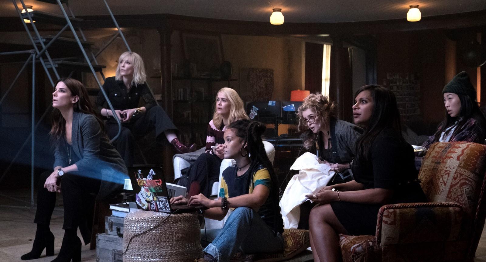 Ocean's 8 : Les 8 femmes se révèlent en affiche