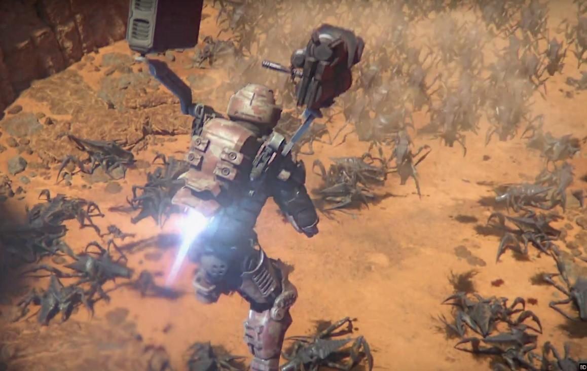 """Résultat de recherche d'images pour """"Starship Troopers: Traitor of Mars"""""""