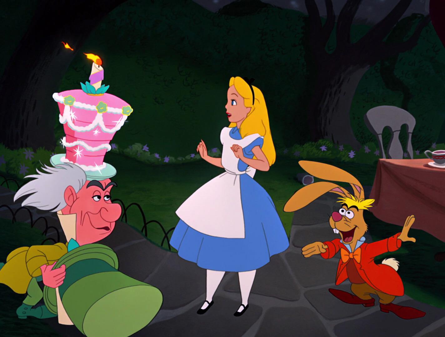 Extraordinaire Alice Au Pays Des Merveilles Dessin Animé alice au pays des merveilles - film (1951) - ecranlarge
