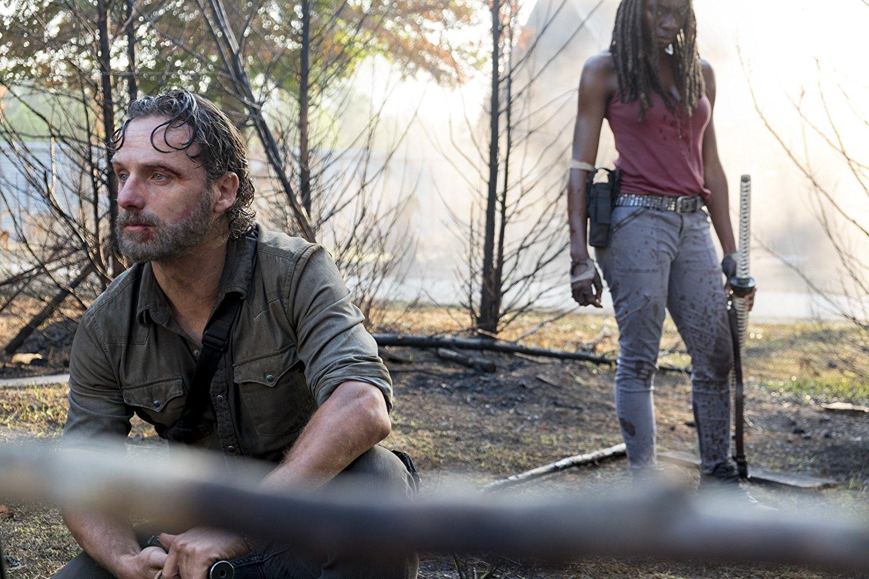Andrew Lincoln, les larmes aux yeux, officialise son départ — The Walking Dead