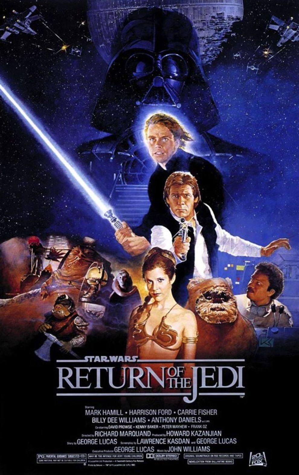 Photos Et Affiches Star Wars 201 Pisode Vi Le Retour Du