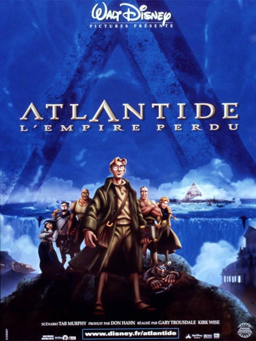 Le Mal Aimé Atlantide L Empire Perdu La Grande Occasion Manquée De Disney