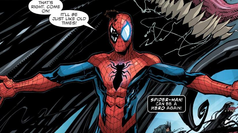 Venom ou l 39 histoire d 39 amour impossible entre le symbiote et spider man dossier film - Coloriage spiderman et venom ...