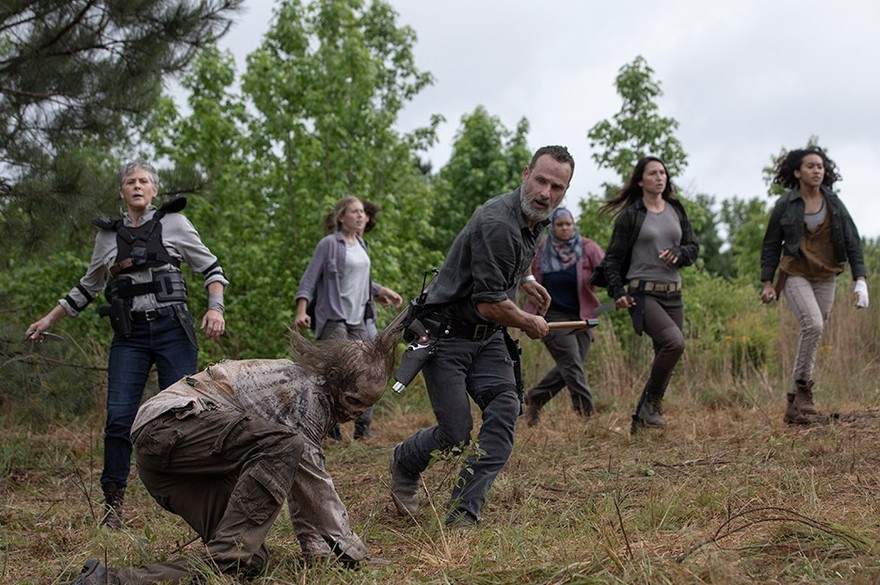 Les scores de The Walking Dead plongent encore