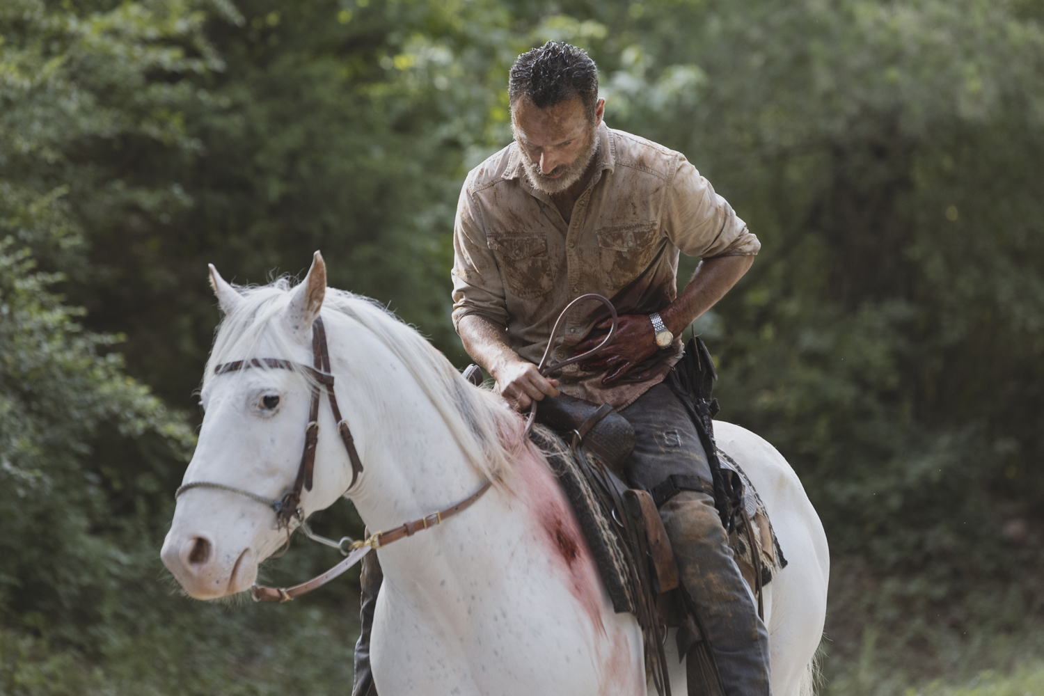 Andrew Lincoln (Rick Grimes) reviendra dans des films — The Walking Dead