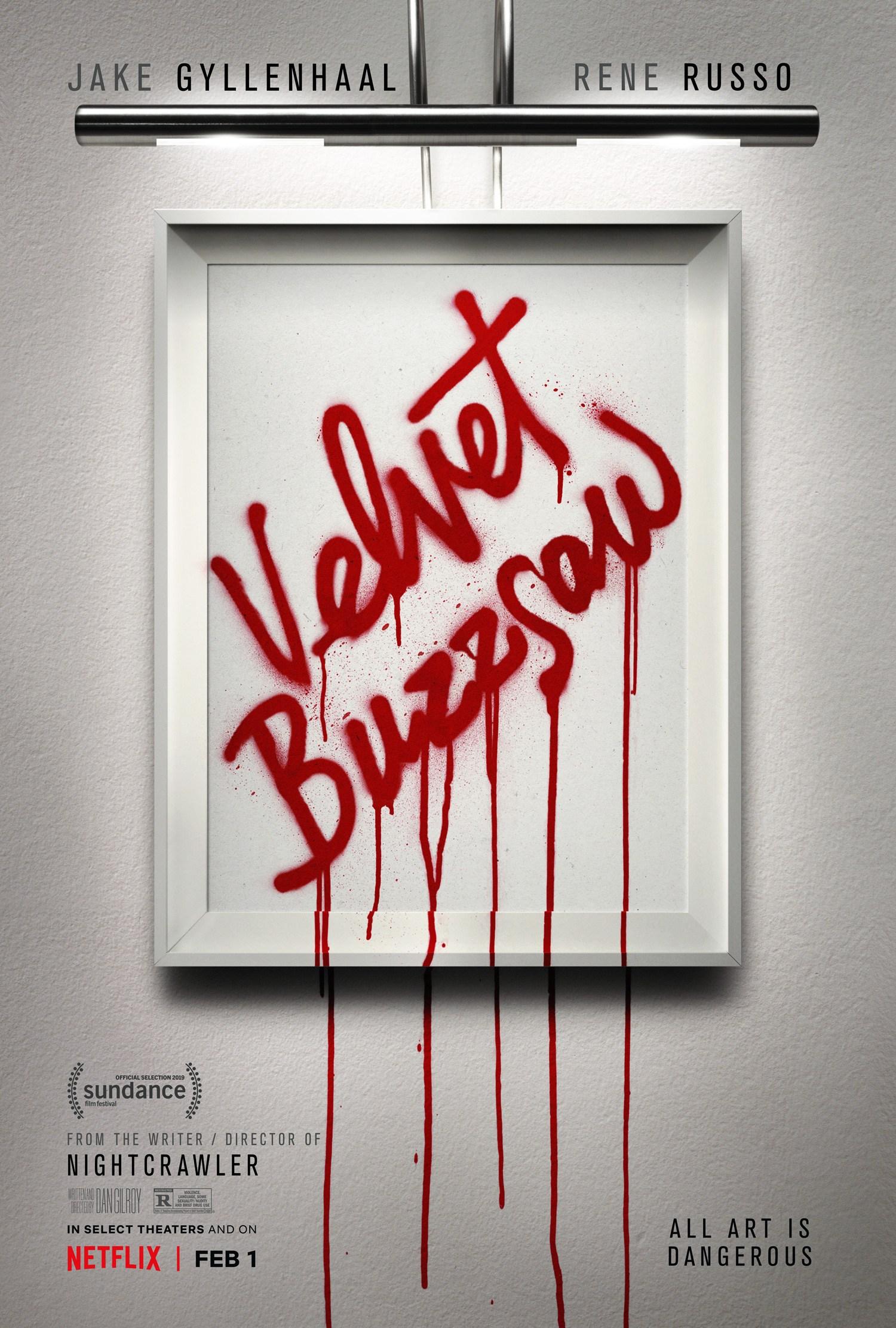 Velvet Buzzsaw  Velvet-buzzsaw-affiche-1053741