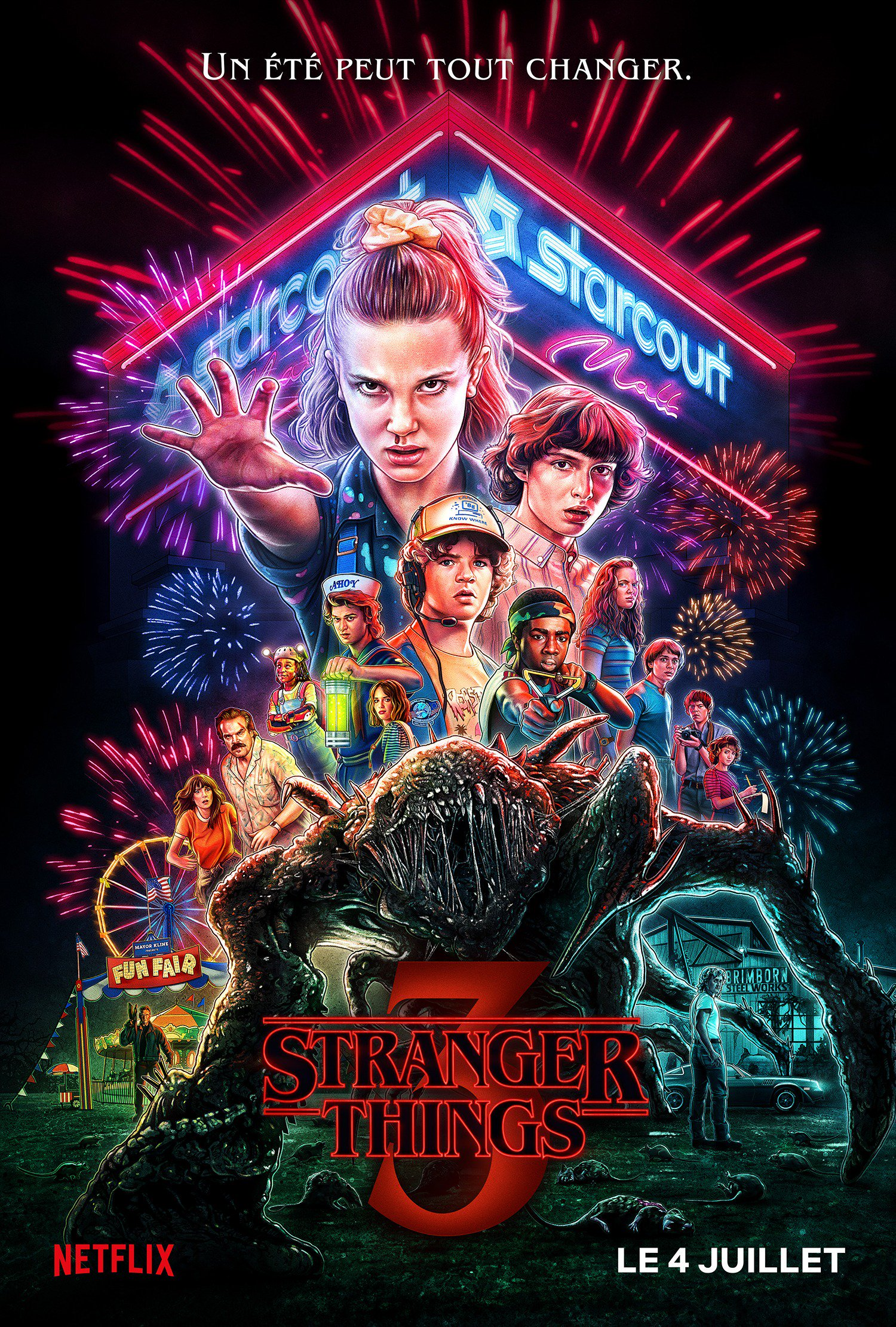 Stranger Things Saison 3 La Pire Saison Du Ph 233 Nom 232 Ne