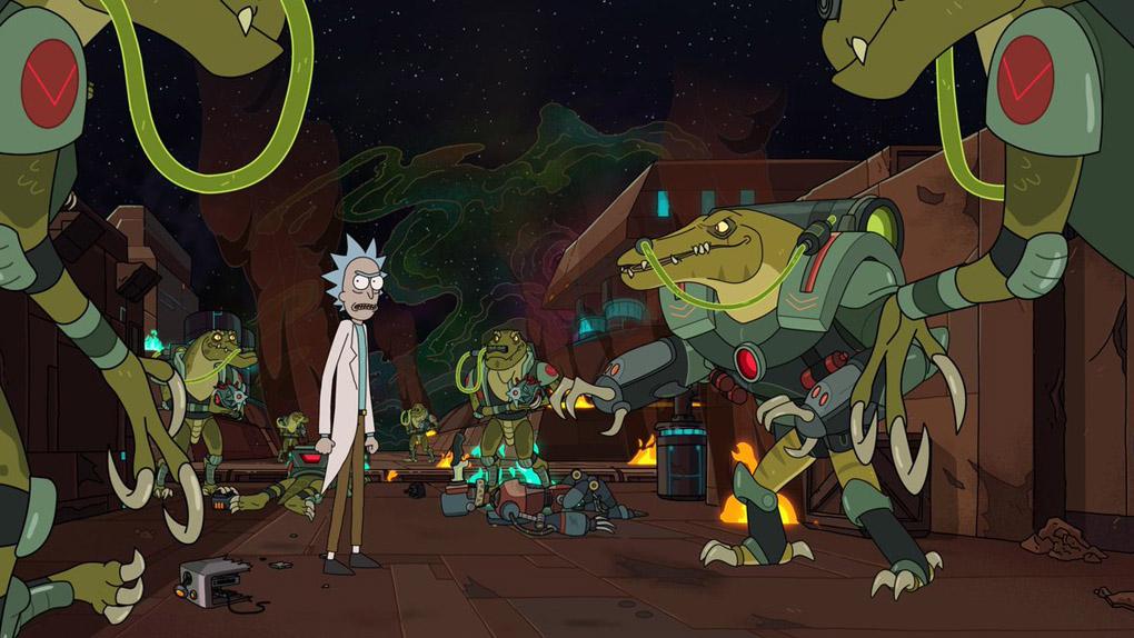 Une bande-annonce déjantée pour la saison 4 — Rick & Morty