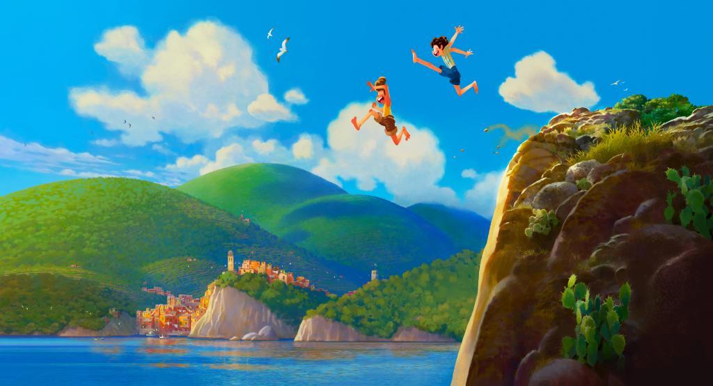 Disney Pixar annonce un nouveau film d'animation sur la Riviera italienne — Luca
